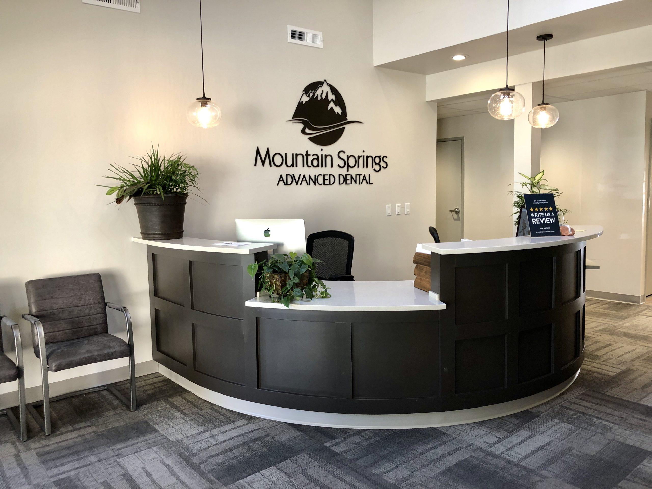 Contact Us Mountain Springs Advanced Dental